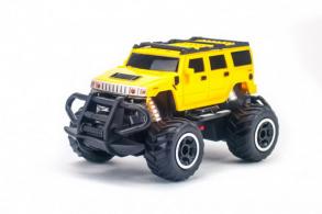 HC-Toys Minicross Car 1:43 Yellow