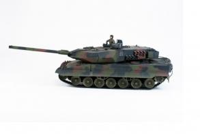 HC-Toys Радиоуправляемый танк Leopard II 1:24, камуфляж NATO, пневмо пушка