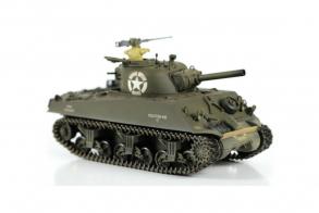HC-Toys Радиоуправляемый танк Sherman M4 1:24 пневмо пушка