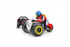 HC-Toys Радиоуправляемый мотоцикл Stunt Amphibious