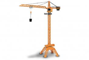 HC-Toys Спецтехника башенный кран металл