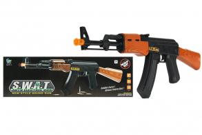 HC-Toys Автомат на батарейках AK-47 (c гильзами)