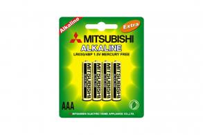 Mitsubishi Батарейка AАA LR03G Alkaline (4шт.)