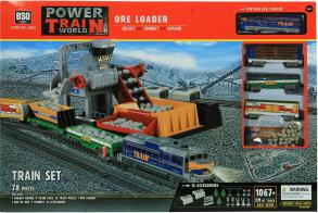 BSQ Железная дорога Ore Loader погрузка щебня (1067 см)
