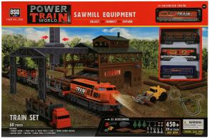 BSQ Железная дорога Sawmill Equipment погрузка леса (450 см)