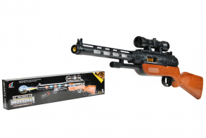 HC-Toys Ружье на батарейках (52см)