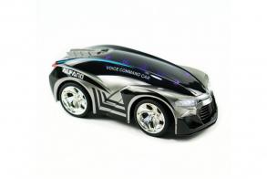 HC-Toys Машина р:у Управление голосом (пульт часы)