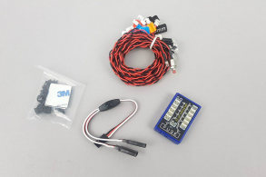 Fuse Flashing LED Lighting Kit for 1:10th and 1:18th