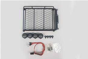 Fuse Roof Crawler Luggage Rack Tray LED Light Bar for Nitro