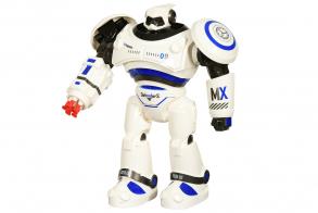 HC-Toys Робот р:у Интерактивный (стреляет присосками)