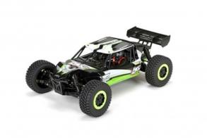 Losi Радиоуправляемый шорт-корс Losi 1:10 TEN-SCBE (AVC) Brushless 4WD 2.4 Ghz, электро,RTR (зеленый)