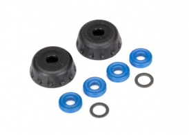 TRAXXAS запчасти Double seal kit, GTR shocks (x-rings (4): 4x6x0.5mm PTFE-coated washers (2): bottom caps (2)) (renew