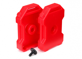 TRAXXAS запчасти Fuel canisters (red) (2): 3x8 FCS (1)