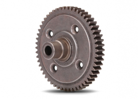 TRAXXAS запчасти Spur gear, steel, 54-tooth (0.8 metric pitch, compatible with 32-pitch) (for center differential)