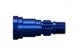 TRAXXAS запчасти Stub axle, aluminum (blue-anodized) (1) (use only with #7750X driveshaft)