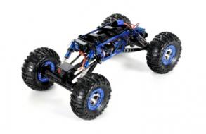 Losi Радиоуправляемый краулер Losi 1:10 Night Crawler 4WD 2.4 Ghz (черный), электро, RTR