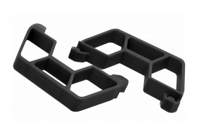 RPM Nerf Bars for the Traxxas Slash 2wd LCG Chassis - Black