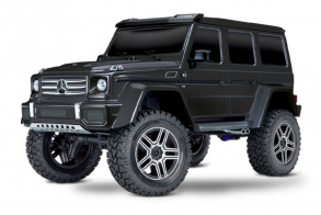 TRAXXAS TRX-4 Mercedes G 500 1:10 4WD Scale and Trail Crawler Black