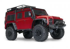 TRAXXAS TRX-4 1:10 Land Rover 4WD Scale and Trail Crawler Red