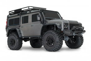 TRAXXAS TRX-4 1:10 Land Rover 4WD Scale and Trail Crawler Silver