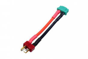 Fuse MPX Male to T-Plug Male 12awg 40mm