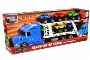 HC-Toys Машина инерционная Грузовик Автовоз