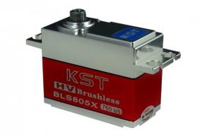 KST Сервомашинка цифровая бесколлекторная (7.5кг/0,04сек)