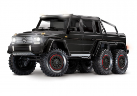TRAXXAS Радиоуправляемая машина TRX-6 Mercedes-Benz G 63 AMG 6x6 Black