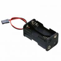 Fuse 4 x AA Battery Holder Futaba Plug