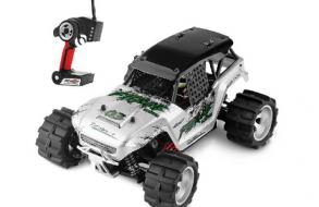 WLTOYS Радиоуправляемая машина Монстр 1:18 4WD - Fierce Zealot