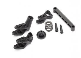 TRAXXAS запчасти  Steering bellcranks/ bellcrank support/ servo saver/ servo saver spring/ draglink/ 3x20mm shoulder screws (2)