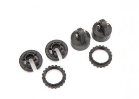 TRAXXAS запчасти Shock caps, GT-Maxx® shocks/ spring perch/ adjusters/ 2.5x14 CS (2) (for 2 shocks)
