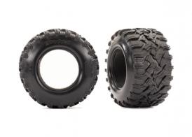"TRAXXAS запчасти  Tires, Maxx® All-Terrain 2.8"" (2)/ foam inserts (2)"