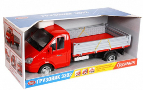 HC-Toys Машина инерционная Газель Бортовая