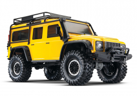 TRAXXAS TRX-4 1:10 Land Rover 4WD Scale and Trail Crawler Yellow