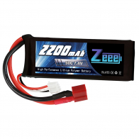 Zeee Power Аккумулятор Zeee Power 2s 7.4v 2200mah 50c