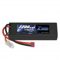 Zeee Power Аккумулятор Zeee Power 2s 7.4v 7200mah 80c