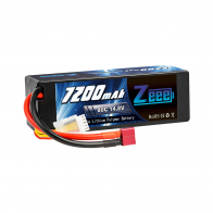 Zeee Power Аккумулятор Zeee Power 4s 14.8v 7200mah 80c