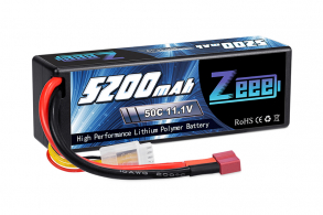 Zeee Power Аккумулятор Zeee Power 3s 11.1v 5200mah 50c