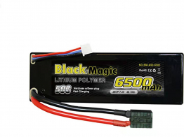 Black Magic 50C/6500mah/7.4V 2S1P (hardcase w/Traxxas Plug)