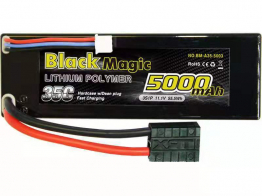 Black Magic 35C/5000mah/11.1V ,3S1P(hardcase w/Traxxas Plug)