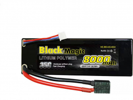 Black Magic 35C/8000mah/7.4V ,2S2P(hardcase w/Traxxas Plug)