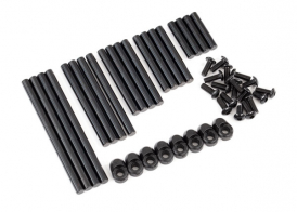 TRAXXAS запчасти  Suspension pin set, complete (hardened steel)