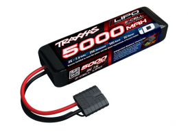 TRAXXAS Battery 5000mAh 7.4v 2-Cell 25C LiPo Battery
