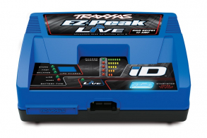 TRAXXAS Charger EZ-Peak Live 100W NiMH:LiPo Charger with iD™ Auto Battery Identification