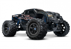 TRAXXAS X-MAXX 1:5 4WD 8S Brushless TQi Ready to Bluetooth Module TSM Blue