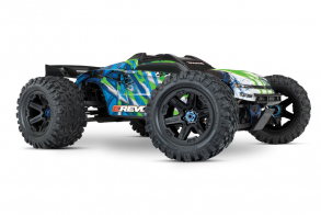 TRAXXAS E-Revo VXL Brushless: 1:10 Scale 4WD Brushless Green