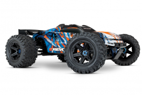 TRAXXAS E-Revo VXL Brushless: 1:10 Scale 4WD Brushless Orange