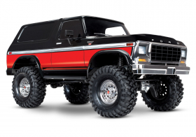 TRAXXAS Ford Bronco 4WD Electric Truck Red