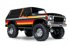 TRAXXAS Ford Bronco 4WD Electric Truck Orange